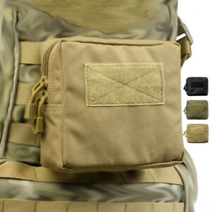 Tactical-Molle-Pouch-Waist-Pack-Bag-Phone-Pocket-Storage-Accessory-Bags-Hiking