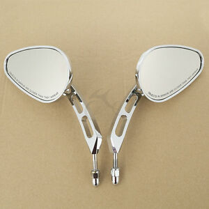 8mm-Thread-Rear-View-Mirrors-For-Harley-CVO-Road-King-Glide-Sportster-883-1200