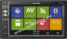 Macrom M-DL5000 Autoradio USB bluetooth GPS 2 DIN touchscreen 6.2