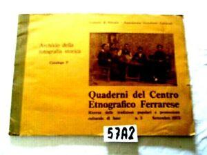 Quaderni del Centro Etnografico ferrarese N° 3    (57A2)