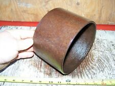 """1 1//2/"""" Flat Leather Belting 1//8/"""" Thick Gas Engine Motor 1/' Piece"""