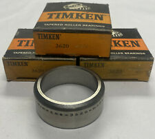 Timken 3620 Tapered Roller Bearing Cup Lot Of 3 Nos
