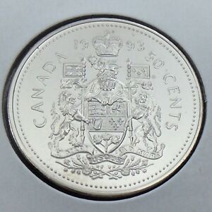 1987-PL Proof-Like Half Dollar 50 Fifty Cent /'87 Canada-Canadian BU Coin