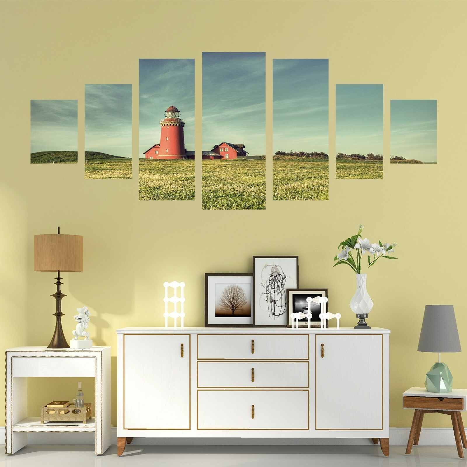 3D Lighthouse 827 Unframed Print Wall Paper Decal Wall Deco Indoor AJ Wall Jenny