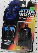 DART VADER LIGHTSABER CAPE KENNER 1995 NEW ON CARD THE POWER FORCE STAR WARS