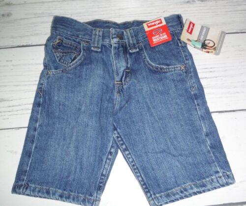 NWT Boys Wrangler Coastal Wash Five Pocket Jean Shorts