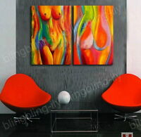 Hand-painted Modern Abstract Art Canvas OIL PAINTING Wall Decor Home No Frame