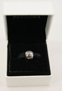 Authentic PANDORA Charm Sterling Silver Night & Day Clip Charm 791208CZ