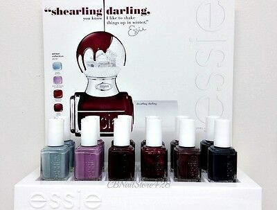 ESSIE Nail Lacquer- SHEARLING DARLING Winter 2013- 0.46oz- Pick any Color