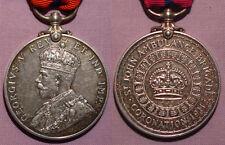 1911 KING GEORGE V (Police) CORONATION MEDAL - ST JOHN'S AMBULANCE REVERSE