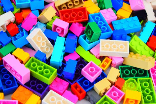 NEW 1000 Lego Bulk ALL Bricks Blocks LOT Mixed Sizes Basic Building Pieces Mix