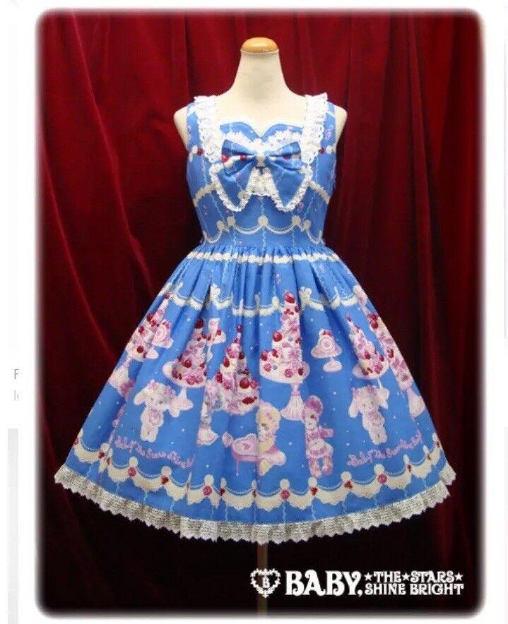 Baby The Stars Shine Bright Creamy Quartet Lolita JSK KAWAII Angelic Pretty