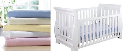 Pink Stars//Light Pink, COT BED-140X70 5 pc Nursery Baby Bedding Set for COT 120X60 OR COT Bed 140X70cm Inc -Duvet+Pillow+Duvet Cover+Pillow CASE+ Bumper Mattress Size