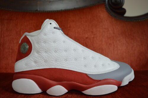 Gris rojo 414571 Limpiar 13 Xiii Jordan Toe cemento 126 Nike negro Blanco Air Retro xw8qfvTAa8