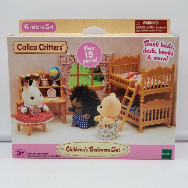 calico critters cc1807 children's bedroom set  factory