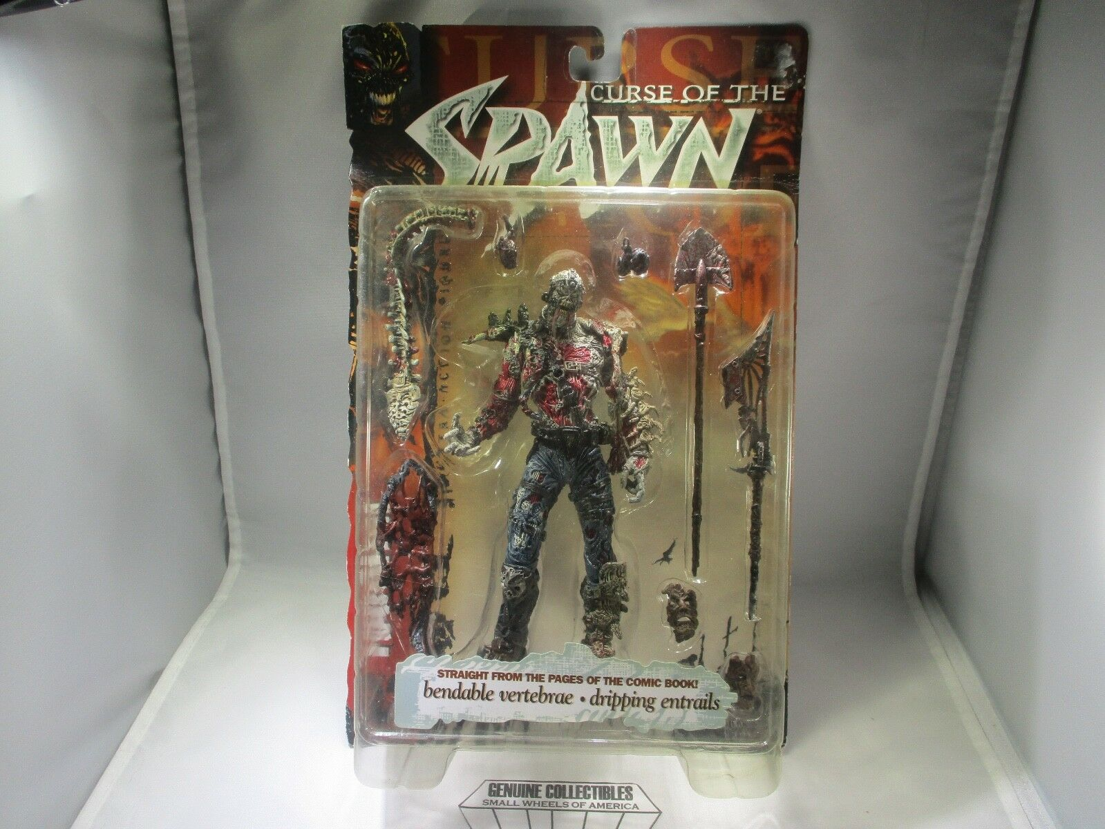 McFarlane Toys CURSE of the SPAWN Action Figure+All Accessories 1998 RARE