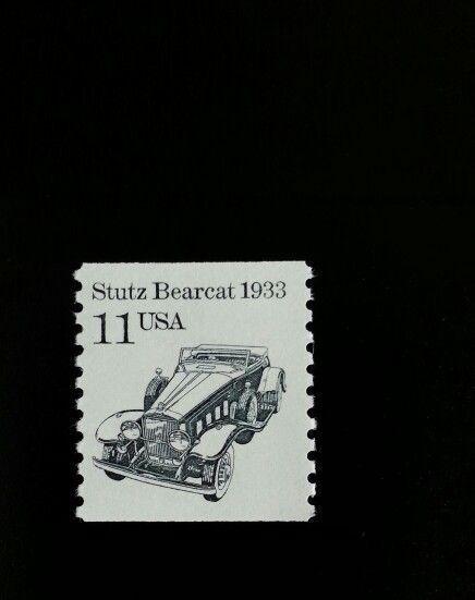 1985 11c Stutz Bearcat, Coil Scott 2131 Mint F/VF NH