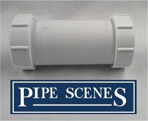 "40 42 43mm 1 1//2/"" Repair Coupling one end Slip Coupler Waste Pipe Bath Sink"