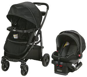 Graco-Baby-Modes-Travel-System-Stroller-w-Infant-Car-Seat-Dayton-NEW