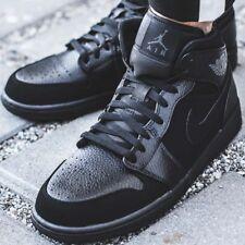 item 7 NIKE AIR JORDAN 1 MID Sport Sneakers Trainers Men`s Casual Black  554724-064 -NIKE AIR JORDAN 1 MID Sport Sneakers Trainers Men`s Casual Black  554724- ... 11214faf9