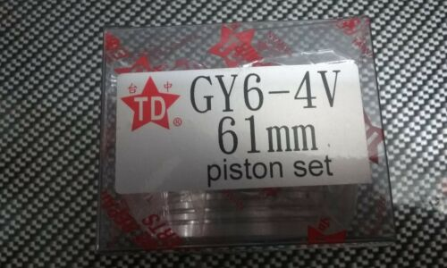 SCOOTER  GY6 HIGH PERFORMANCE TAIDA HIGH PERFORMANCE 4V PISTON 61MM
