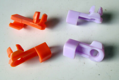 Fits Honda DOOR LOCK ROD CLIPS RH//LH 2-Pair 72116-SV4-003 Purple//Orange 4