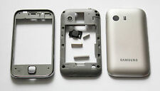 Silver Housing Cover Fascia facia faceplate case for Samsung Galaxy Y S5360