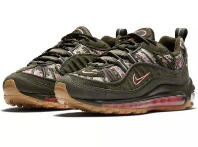 Nike Air Max 98 Sequoia Floral Camo Pink Women Size 6 AQ6468 300 | eBay