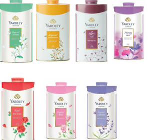 YARDLEY LONDON Talc Talcum Powder for Women, 7 Variants, 100g