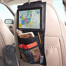 CAR BACK SEAT MULTI-POCKET STORAGE BAG TIDY ORGANIZER COOL HOT TRAVEL HOLDER NEW