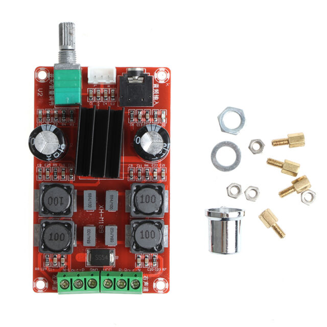 Cheap Sale Dc 12-24v Audio Amplifier Board Tpa3116d2 2x50w Mini Digital Power Audio Stereo Amplifier Board 2.0 Channel Class D Audio & Video Replacement Parts Accessories & Parts