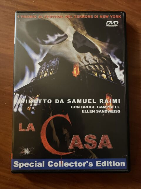 La casa (1981) DVD Explosion (sam Raimi) Prima Edizione Italiana Rarissima