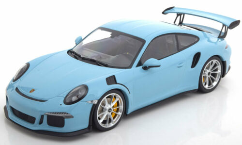 991 1:18 Minichamps Porsche 911 GT3 RS 2015 lightblue