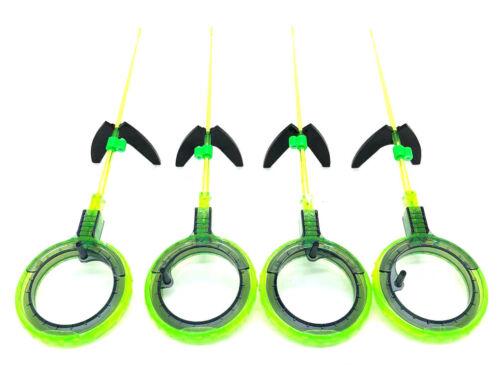 """new 4 pcs Ice Winter Fishing rods /""""Balalaika/"""" polycarbonate ZD"""