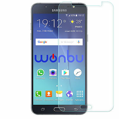 Tempered Glass Film Screen Protector For Samsung Galaxy J7
