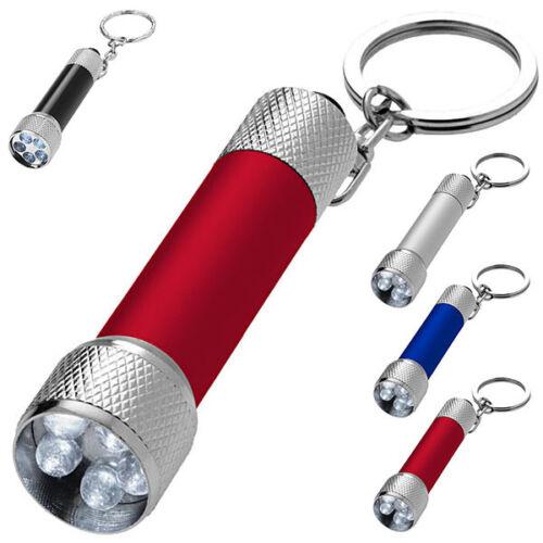 Portachiavi in Alluminio con Luce 5 LED Bianca Draco Torcia Elettrica Gadget