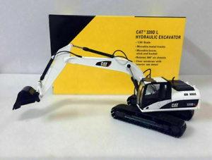 1-50-Scale-CAT-320DL-Carter-Alloy-Track-Excavator-Engineering-Vehicle-Car-Model