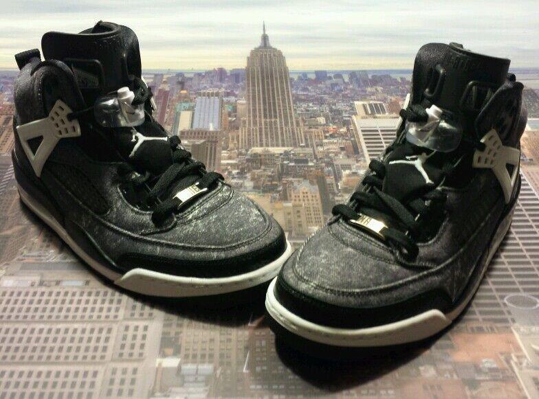 Nike iD Womens Air Jordan Spizike Black Denim Comfortable Seasonal price cuts, discount benefits