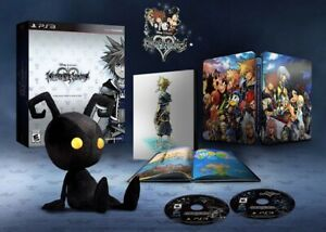 Kingdom Hearts Hd 2 5 Limited Collector S Edition Ps3 Sealed New Mint Ebay