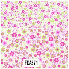 Decopatch Decoupage Printed Paper FDA644 Floral