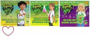 DIY-Slime-Kit-Paillette-Perles-Amusant-Cadeau-Make-Your-Propre-non-Borax