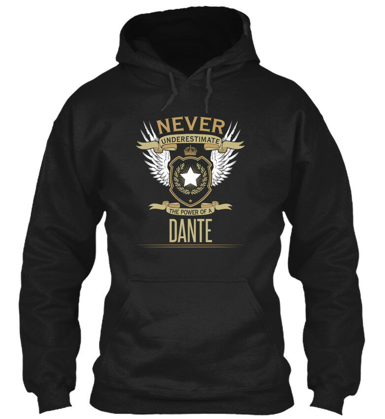 Dante Dante Dante Never Underestimate Heather - The Power Of A Standard College Hoodie | Exquisite (in) Verarbeitung