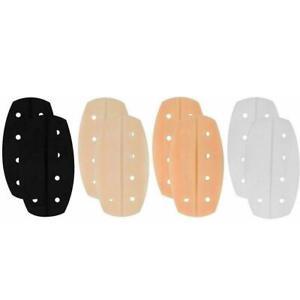 1 Pair Silicone Bra Strap Cushions Soft Holder Shoulder Pads Non-slip X3V0