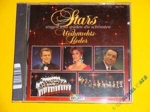 Stars Singen Die Schönsten Weihnachtslieder.Details Zu Cd Stars Singen Und Spielen Die Schönsten Weihnachtslieder