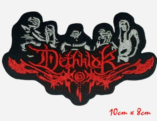 Dethklok Death Metal Cartoon Band Iron On Embroidered Patch applique #056