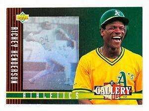 Rickey Henderson #29 (1993 Upper Deck) Diamond Gallery, Oakland Athletics