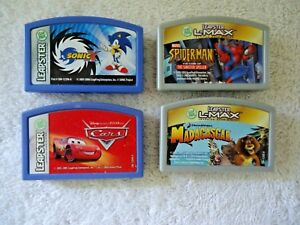 Lot-Of-4-Leapster-Games-Read-Info-And-See-All-Pics-For-Titles-etc