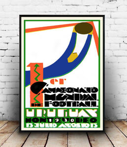 Uruguay-World-cup-1930-Vintage-advert-poster-Wall-art-poster-reproduction