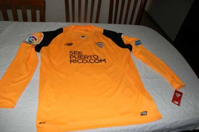 Camiseta Preparada Juego Sevilla Fc 2016 17 Liga Portero 31 Juan Soriano L Ebay