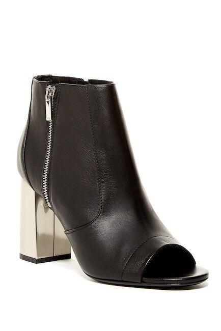 vendita economica  495 Dimensione 8 Vince Faber nero Leather Open Open Open Toe Fashion Ankle avvioie scarpe  di moda
